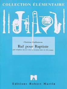 GUILLONNEAU C. BAL POUR BAPTISTE SAXO MIB