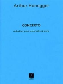 HONEGGER A. CONCERTO VIOLONCELLE