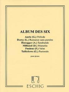 ALBUM DES 6 PIANO