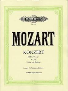 MOZART W.A. CONCERTO KV 218 VIOLON