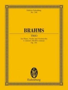 BRAHMS J. TRIO OP 101 CONDUCTEUR