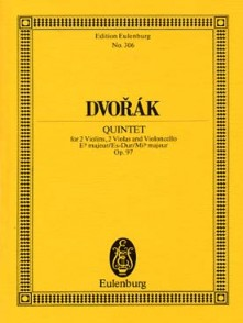 DVORAK A. QUINTETTE OP 97 CORDES CONDUCTEUR
