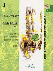 VADROT D. IRISH MUSIC VOL 1 SAXO MIB OU SIB