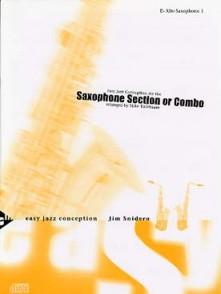 SNIDERO J. EASY JAZZ CONCEPTION SAXOPHONES ENSEMBLE OU COMBO