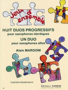 MARGONI A. DUOS PROGRESSIFS SAXOPHONES