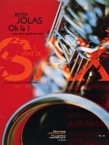 JOLAS B. OH LA! SAXOS