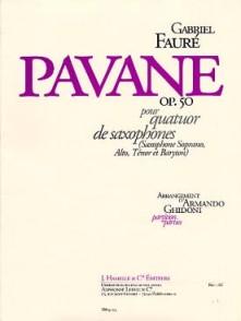 FAURE G. PAVANE OP 50 SAXOS