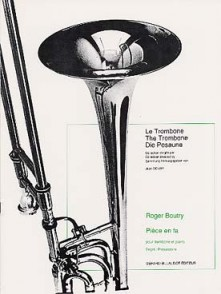 BOUTRY R. CHORAL VARIE TROMBONE