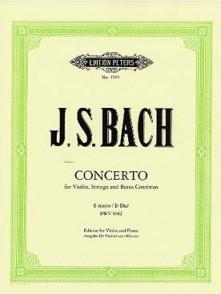 BACH J.S. CONCERTO BWV 1042 VIOLON