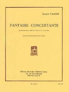 CASTEREDE J. FANTAISIE CONCERTANTE TUBA