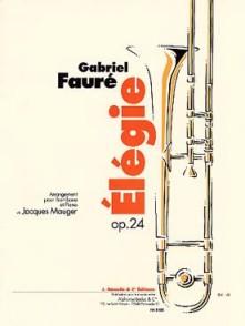 FAURE G. ELEGIE OPUS 24 TROMBONE