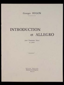 HUGON G. INTRODUCTION ET ALLEGRO TROMBONE