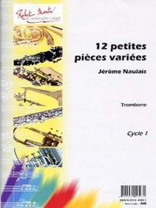 NAULAIS J. PETITES PIECES VARIEES TROMBONE