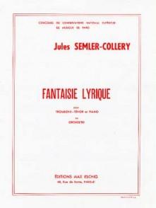 SEMLER-COLLERY J. FANTAISIE LYRIQUE TROMBONE
