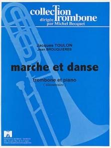 TOULON J. MARCHE ET DANSE TROMBONE