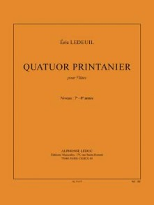 LEDEUIL E. QUATUOR PRINTANIER FLUTES