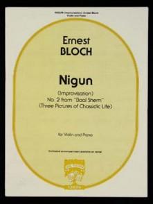 BLOCH E. NIGUN VIOLON