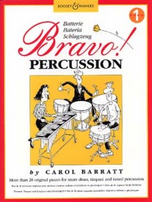 BARRATT C. BRAVO PERCUSSION VOL 1