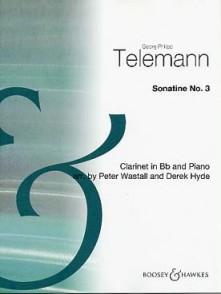 TELEMANN G.P. SONATINE N°3 CLARINETTE