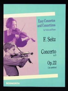 SEITZ F. CONCERTO N°5 OP 22 VIOLON