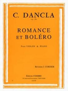 DANCLA C. ROMANCE ET BOLERO VIOLON