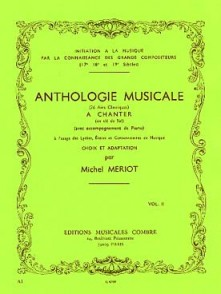 MERIOT M. ANTHOLOGIE MUSICALE A CHANTER VOL 2