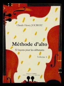 JOUBERT C.H. METHODE D'ALTO VOL 1