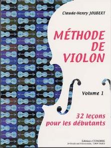 JOUBERT C.H. METHODE DE VIOLON VOL 1