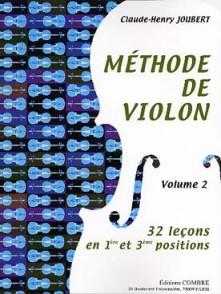 JOUBERT C.H. METHODE DE VIOLON VOL 2