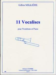 MILLIERE G. 11 VOCALISES TROMBONE