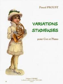 PROUST P. VARIATIONS STUDIEUSES COR