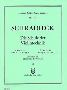 SCHRADIECK H. ECOLE DE LA TECHNIQUE VOL 3 VIOLON