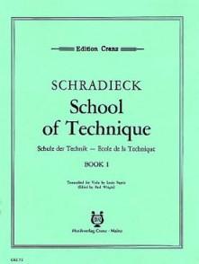 SCHRADIECK H. ECOLE DE LA TECHNIQUE VOL 1 ALTO