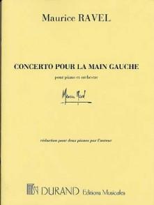 RAVEL M. CONCERTO POUR LA MAIN GAUCHE 2 PIANOS