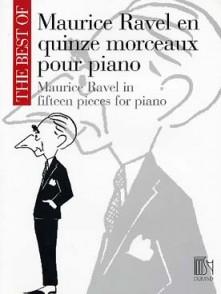 RAVEL M. 15 MORCEAUX PIANO