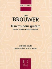 BROUWER L. OEUVRES POUR GUITARE