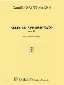 SAINT-SAENS C. ALLEGRO APPASSIONATO OP 43 VIOLONCELLE