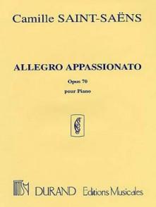 SAINT-SAENS C. ALLEGRO APPASSIONATO OP 70 PIANO