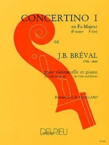 BREVAL J.B. CONCERTINO N°1 VIOLONCELLE