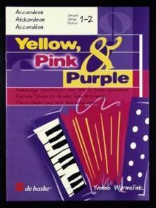 YELLOW PINK PURPLE ACCORDEON