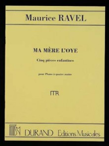 RAVEL M. MA MERE L'OYE PIANO 4 MAINS