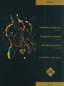 CAMISASSA C. METHODE PROGRESSIVE VOL 1 GUITARE