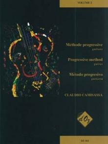 CAMISASSA C. METHODE PROGRESSIVE VOL 2 GUITARE