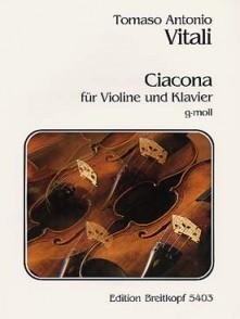 VITALI T.A. CHACONNE VIOLON