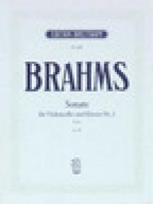BRAHMS J. SONATE N°2 OP 99 VIOLONCELLE