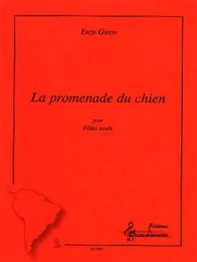 GIECO E. LA PROMENADE DU CHIEN FLUTE SOLO