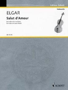 ELGAR E. SALUT D'AMOUR OP 12 VIOLONCELLE