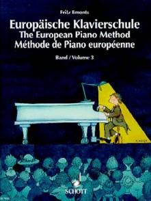 EMONTS F. METHODE DE PIANO EUROPEENNE VOL 3