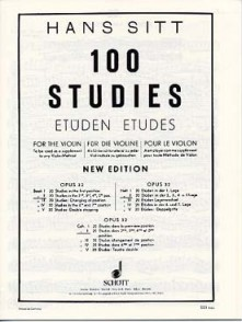 SITT H. 100 STUDIES OPUS 32 VOL 2 VIOLON