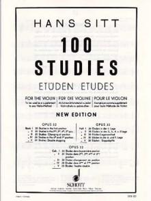 SITT H. 100 STUDIES OPUS 32 VOL 5 VIOLON